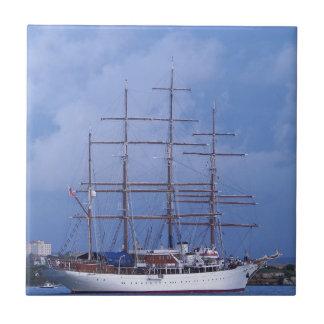 Tall Ship Sea Cloud Ceramic Tile