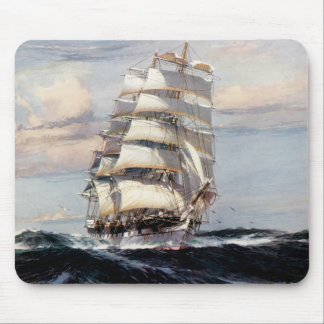 Tall Ship Thessalus Mouse Pad