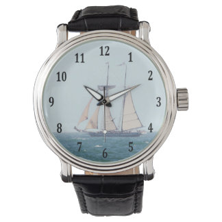 Tall Ship Wrist Watch