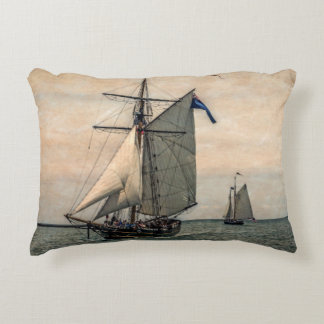 Tall Ships Festival, Digitally Altered Accent Cushion
