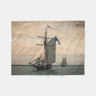 Tall Ships Festival, Digitally Altered Fleece Blanket