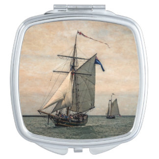 Tall Ships Festival, Digitally Altered Mirrors For Makeup