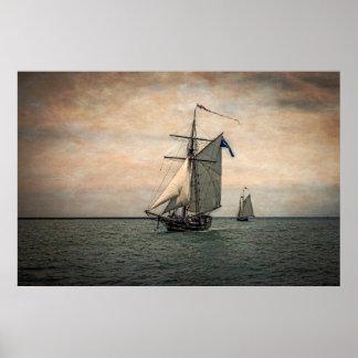 Tall Ships Festival, Digitally Altered Poster