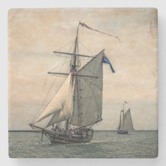 Tall Ships Festival, Digitally Altered Stone Coaster