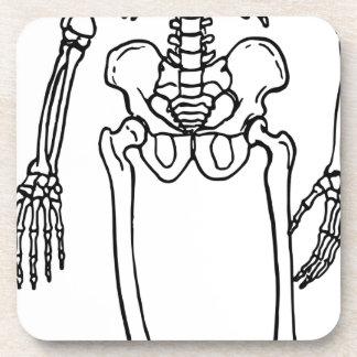 Tall Skeleton Coaster