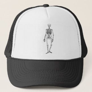 Tall Skeleton Trucker Hat