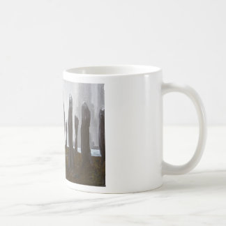 Tall Soldiers black and white surrealism Mug