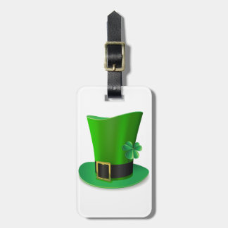 Tall St Patricks Day Hat Luggage Tags