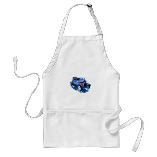 Tall T in blue Adult Apron