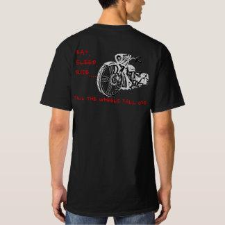 (TALL) TILL THE WHEELS FALL OFF! T-shirt