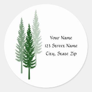 Tall Trees Address Stickers