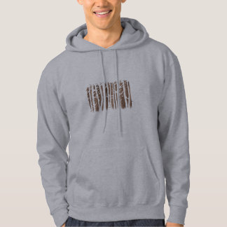 Tall Trees forest -  brown Hoodie
