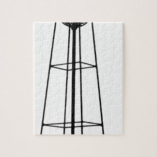 Tall Water Tower Jigsaw Puzzle