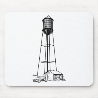 Tall Water Tower Mouse Pad