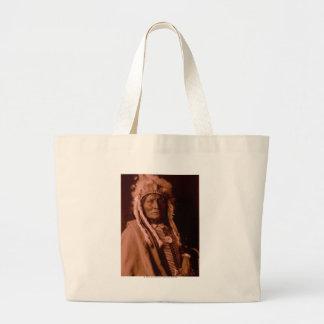 Tall Whiteman - Cheyenne Large Tote Bag