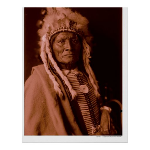 Tall Whiteman - Cheyenne Posters