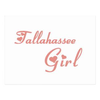 Tallahassee Girl tee shirts Postcard