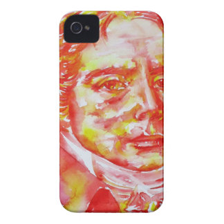 talleyrand - watercolor portrait iPhone 4 case
