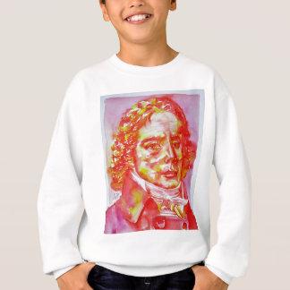 talleyrand - watercolor portrait sweatshirt
