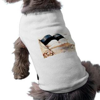 Tallinn 1st Postcard Doggie Coat Sleeveless Dog Shirt