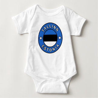 Tallinn Estonia Baby Bodysuit