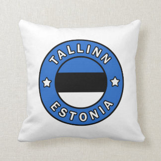 Tallinn Estonia Cushion