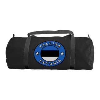 Tallinn Estonia Gym Bag