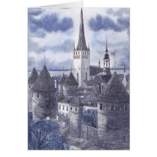 Tallinn Greeting Card