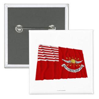 Tallmadge s Dragoons Waving Flag Pinback Buttons
