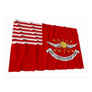 Tallmadge's Dragoons Waving Flag Postcards