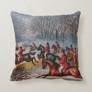Tally-Ho Throw Pillow