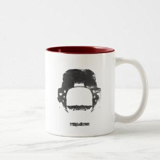 Tally Ho Two-Tone Coffee Mug