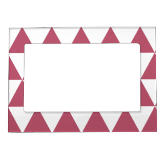 Tally Magnétique 12.7 cm X 17.8 cm Triangles Magnetic Picture Frame
