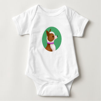 Tallydog Circle of Friends Little Dog Baby Bodysuit