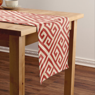 Talosian Red Grande Short Table Runner