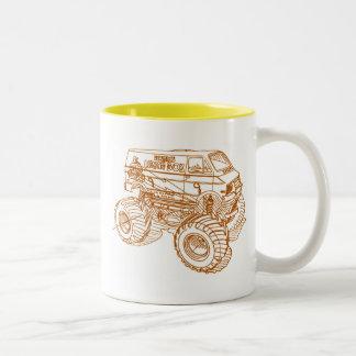 Tam LunchBx Two-Tone Coffee Mug