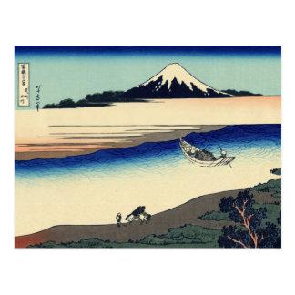 Tama River in Musashi Province (by Hokusai) Postcard