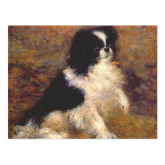 Tama the Japanese Dog by Renoir Postcard