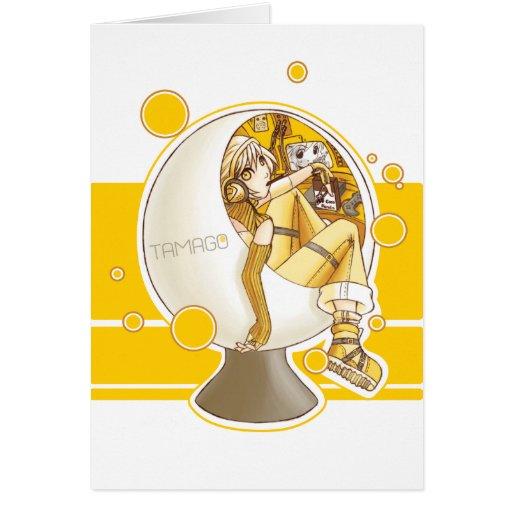 TAMAGO Chair card