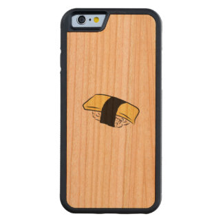 Tamago Sushi Eggroll Sushi Maki Japanese Food Love Carved Cherry iPhone 6 Bumper Case