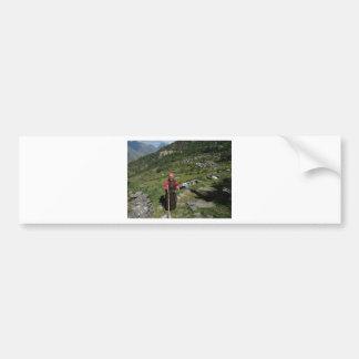 Tamang Heritage Trail, Langtang, Nepal Bumper Sticker