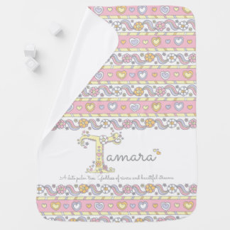 Tamara name and meaning hearts baby blanket