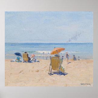 Tamarama Beach - Elioth Gruner Posters