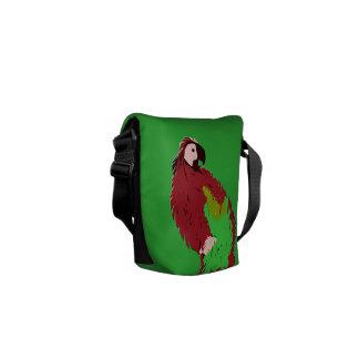 Tamarillo Parrot Messenger Bag