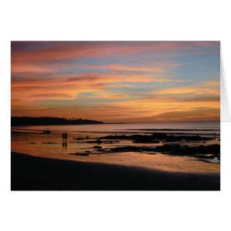 Tamarindo Playa Grande Costa Rica Card