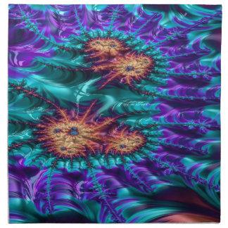 tamer crimson fractal napkin