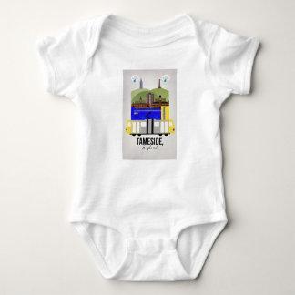 Tameside Baby Bodysuit