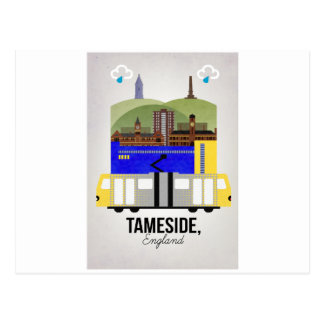 Tameside Postcard
