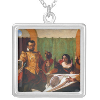 Taming of the Shrew Silver Plated Necklace