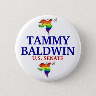 Tammy Baldwin FOR SENATE 6 Cm Round Badge